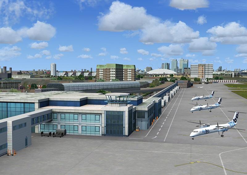 London City Airport X Aerosoft Shop