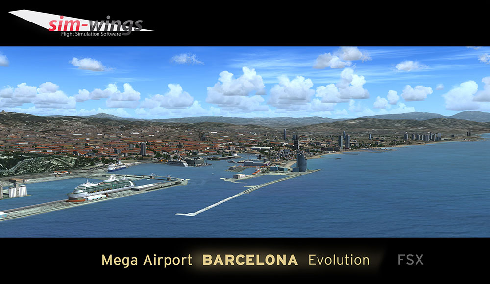 Mega Airport Barcelona Evolution