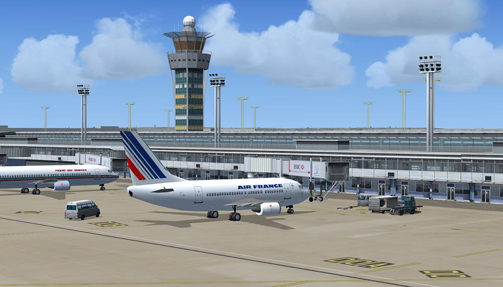 Mega airport paris orly aerosoft shop - Comptoir air france orly telephone ...