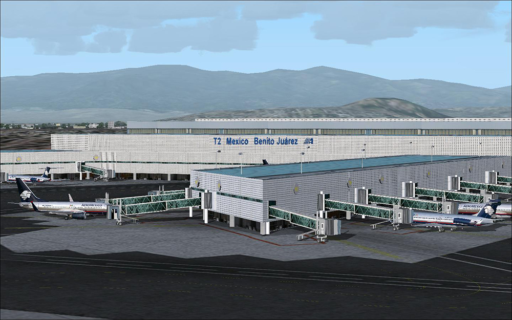 Airports Of Mexiko City Central Aerosoft Shop - Airports in mexico