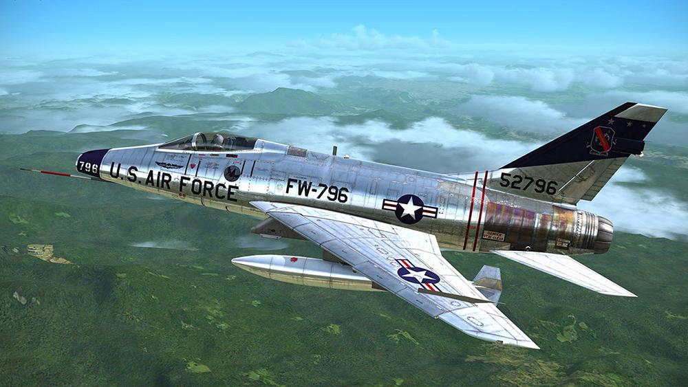 Resultado de imagen de F-100 super sabre
