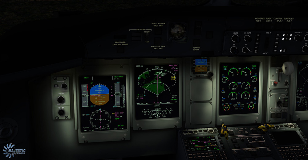Majestic Software - Dash 8 Q400 PILOT Edition for FSX/P3D V3