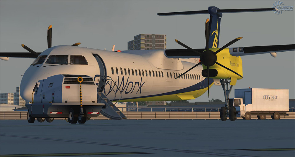 Majestic Software - Dash 8 Q400 PRO Edition for FSX/P3D V3