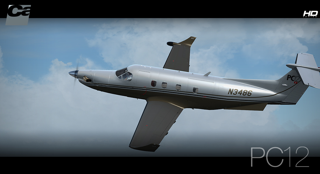 Carenado - PC12 - HD Series (FSX/P3D)