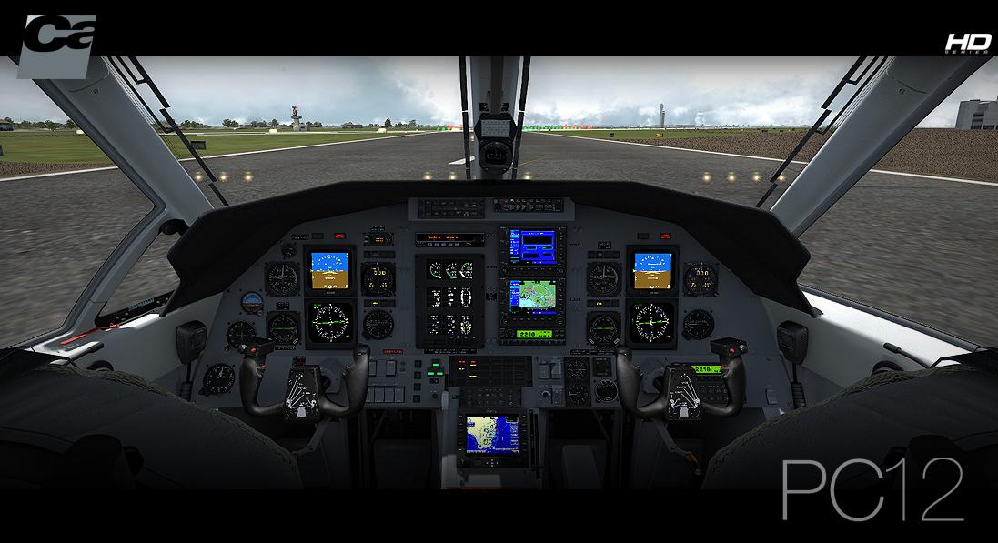 Carenado - PC12 - HD Series (FSX/P3D) | SimWare Shop