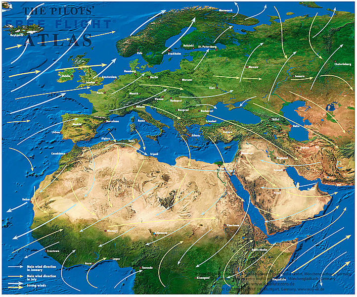The Pilots Free Flight Atlas - Eastern Hemisphere