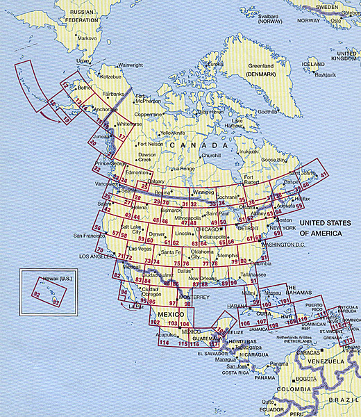 The Pilots Free Flight Atlas - USA, Canada/Mexico