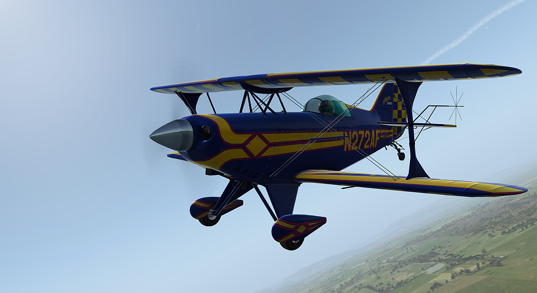 Alabeo - Pitts S-2S