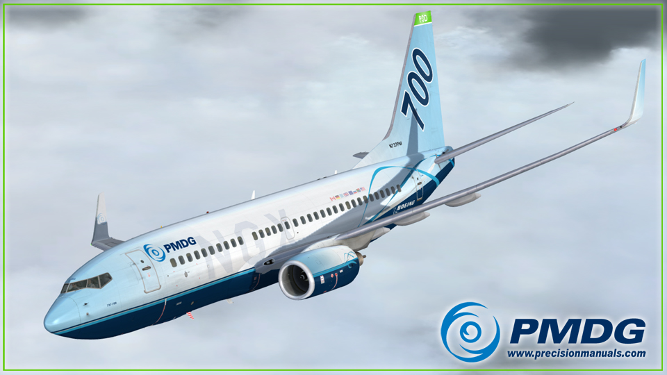 PMDG 737 NGX Expansion Pack 600/700 for P3D V4