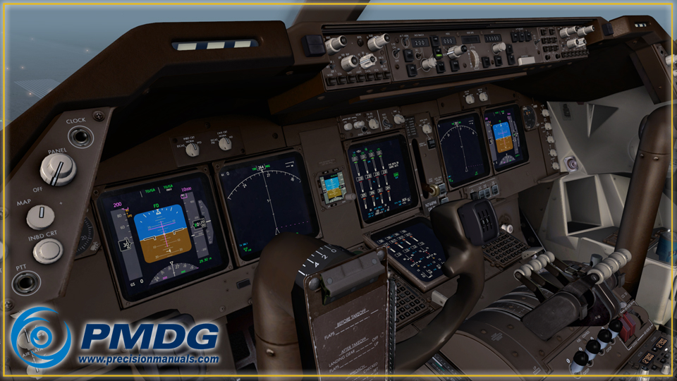 PMDG 747-400 V3 Queen of the Skies II for FSX