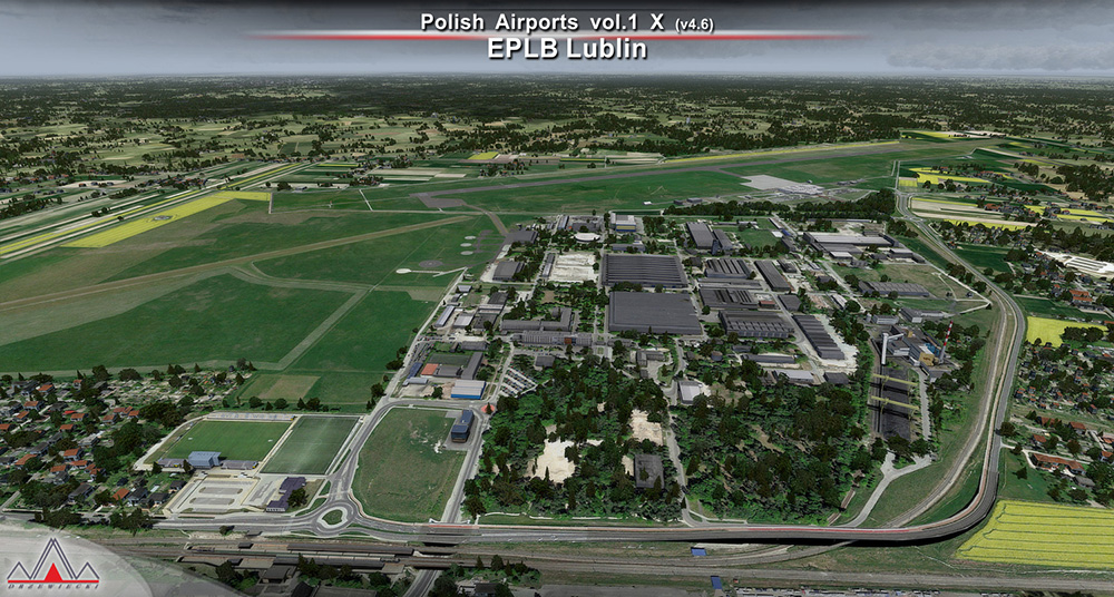 Polish Airports Vol  1 X (v4) | Aerosoft Shop