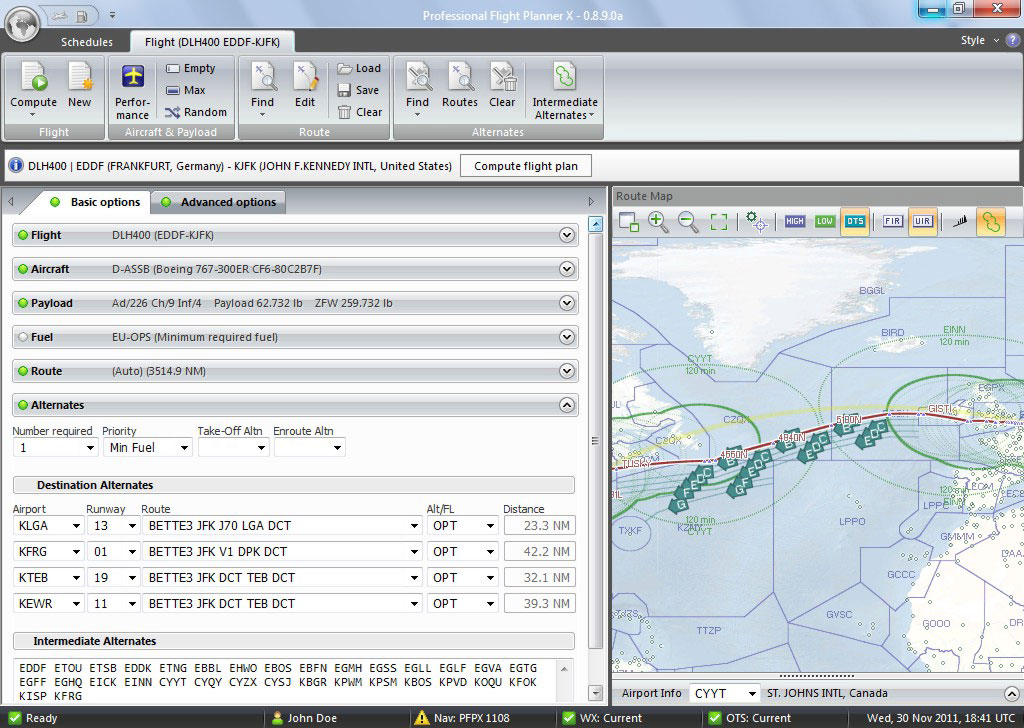 Professional Flight Planner X | Aerosoft Shop