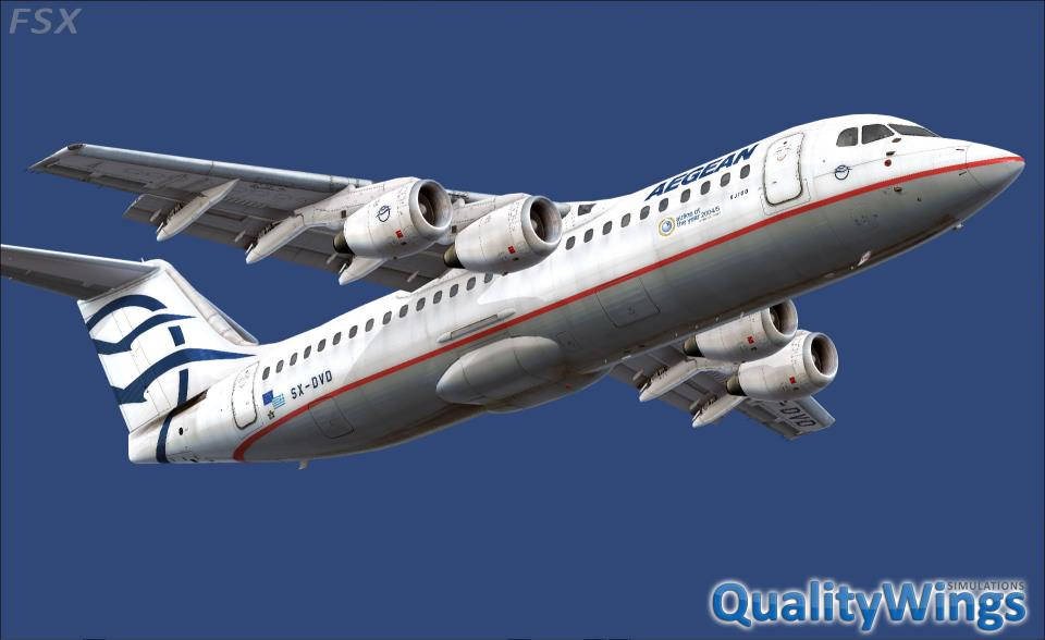 QualityWings - The Ultimate 146 Collection (FSX)