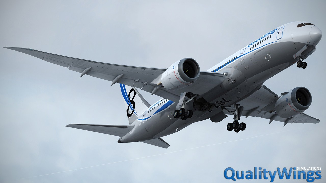 QualityWings - Ultimate 787 Collection for FSX