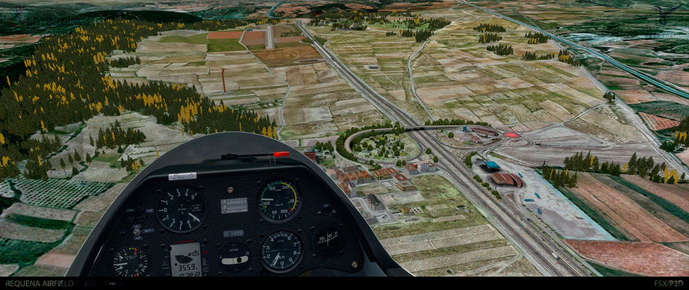 Spanish Airfields: Requena X