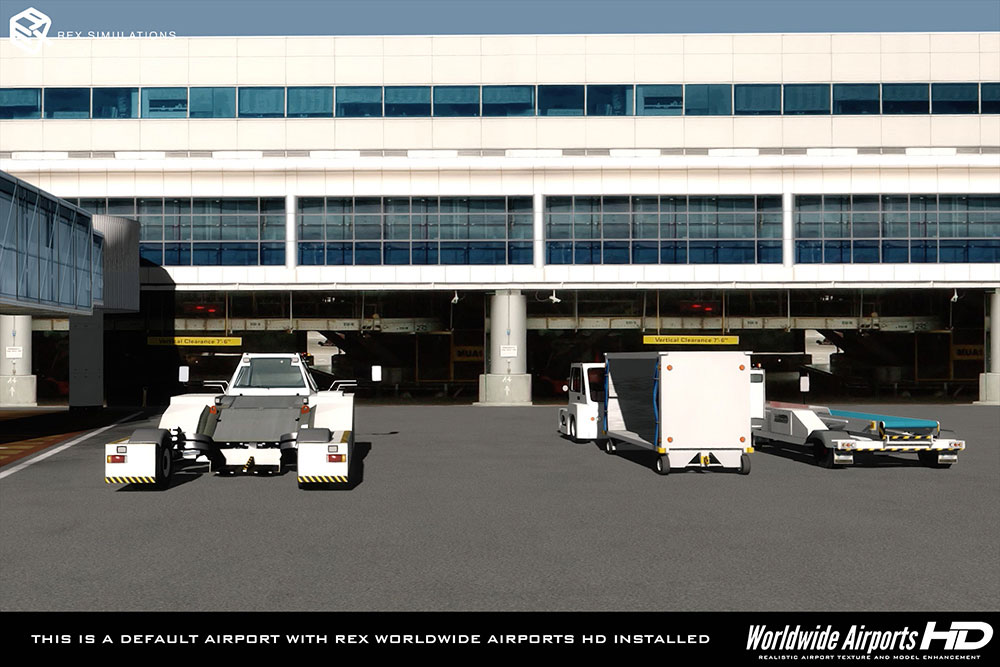 REX 4 Worldwide Airports HD