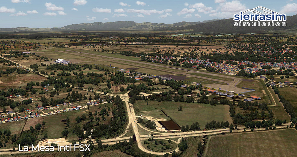 MHLM - La Mesa International Airport FSX