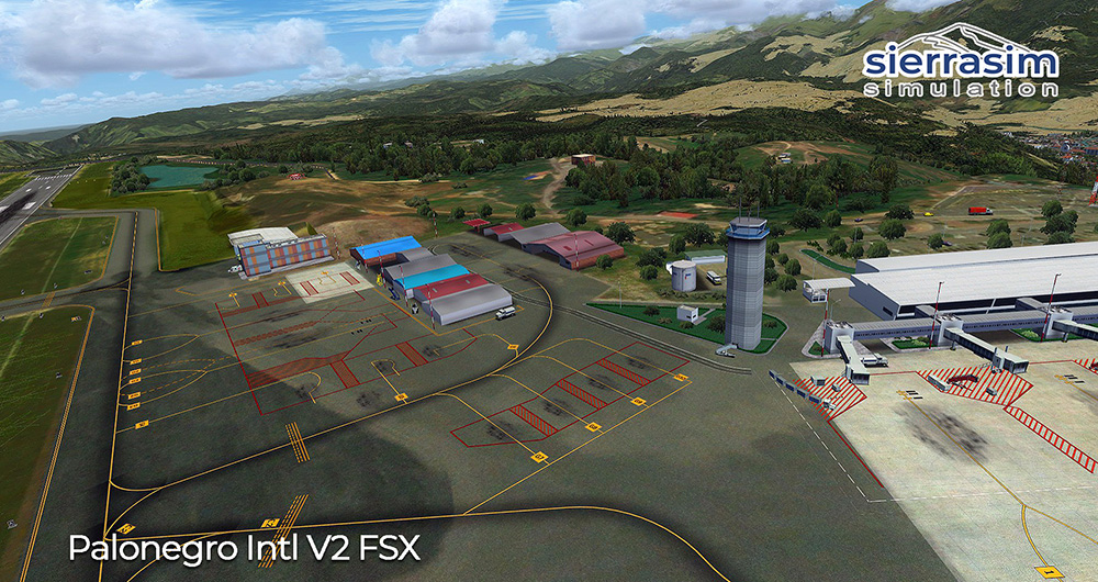 SKBG - Palonegro International Airport V2 FSX