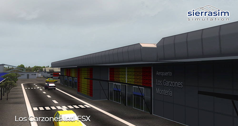 SKMR - Los Garzones International Airport FSX