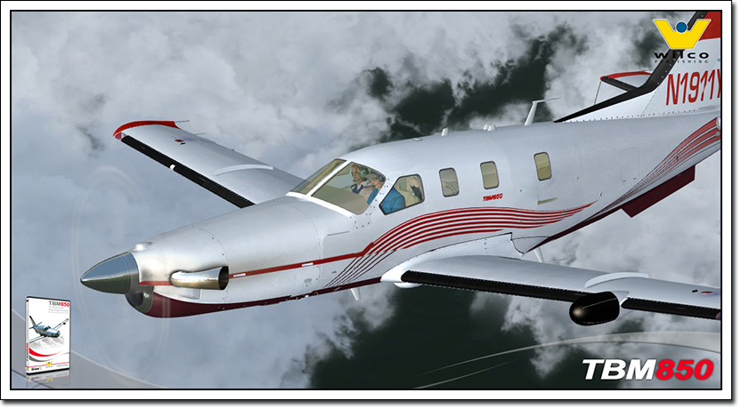 TBM850 Elite | SimWare Shop