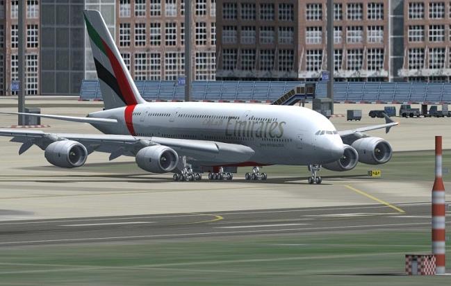 Airbus a380 Wilco