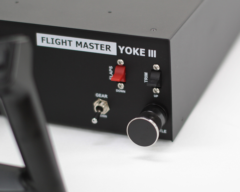 VRinsight - Flight Master Yoke III