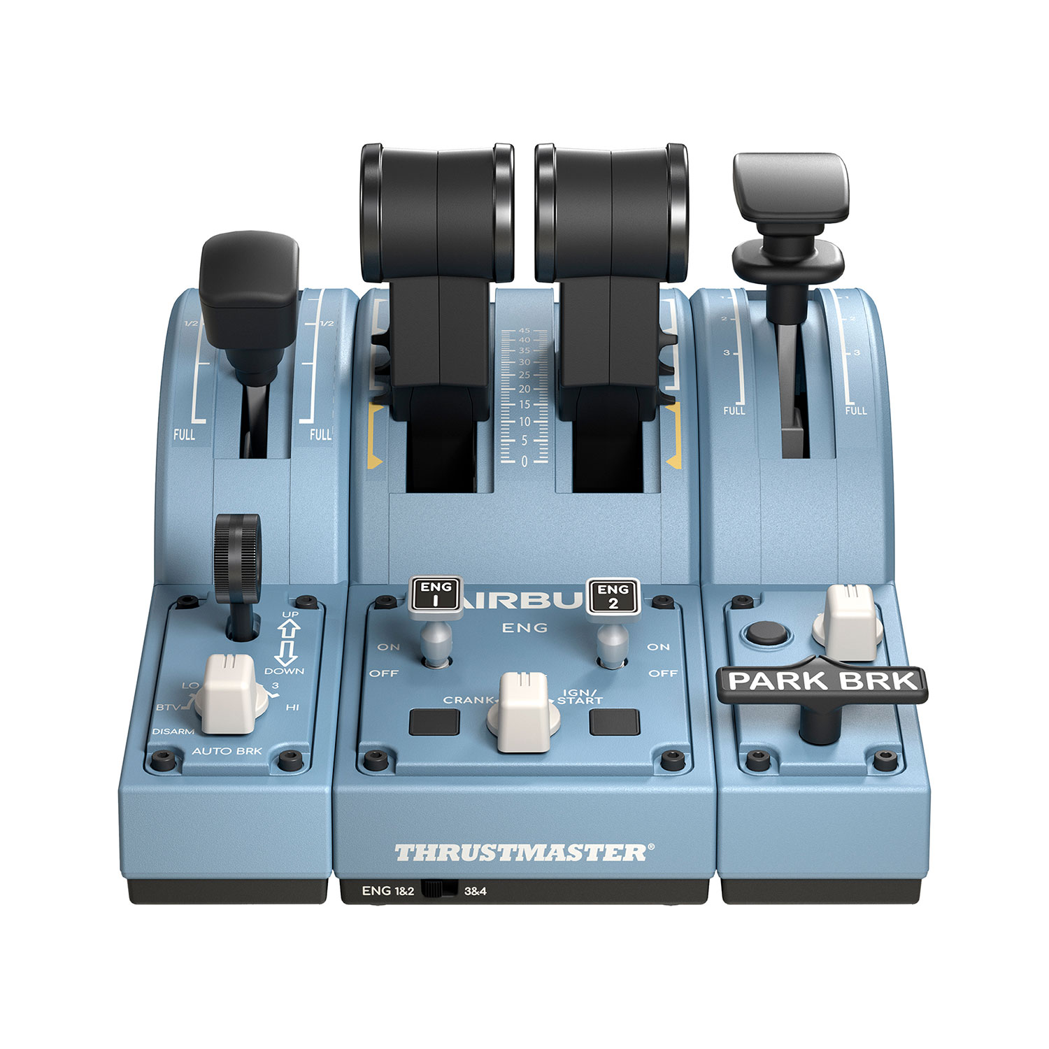 Thrustmaster - TCA Quadrant Add-On Airbus Edition