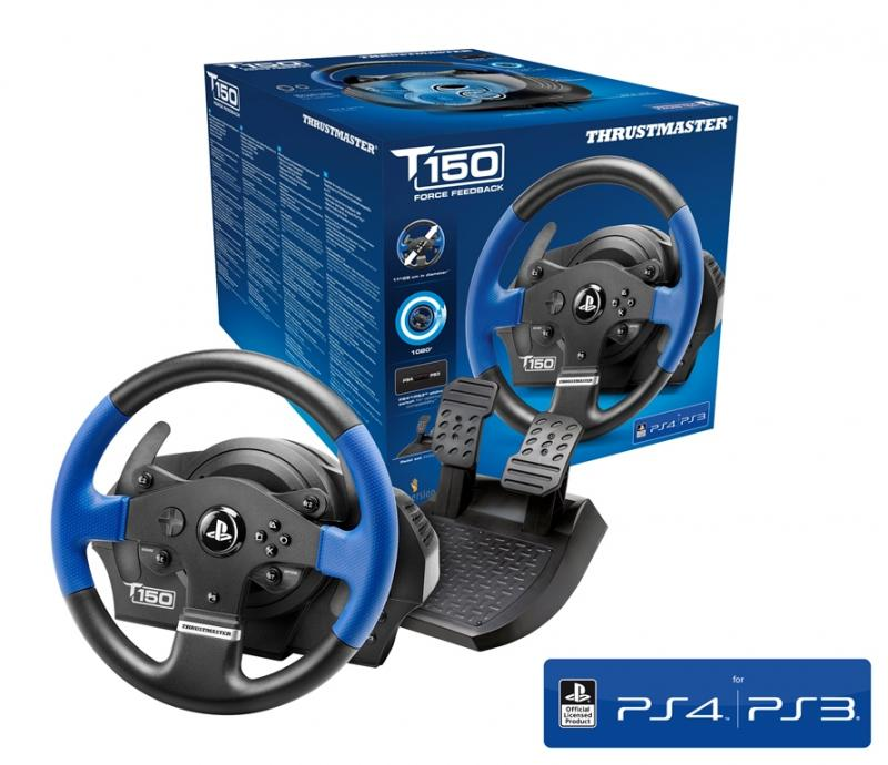 Thrustmaster - T150 Force Feed Back Racing Wheel