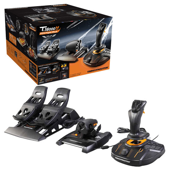 Thrustmaster - T 16000M FCS Flight Pack | Aerosoft Shop