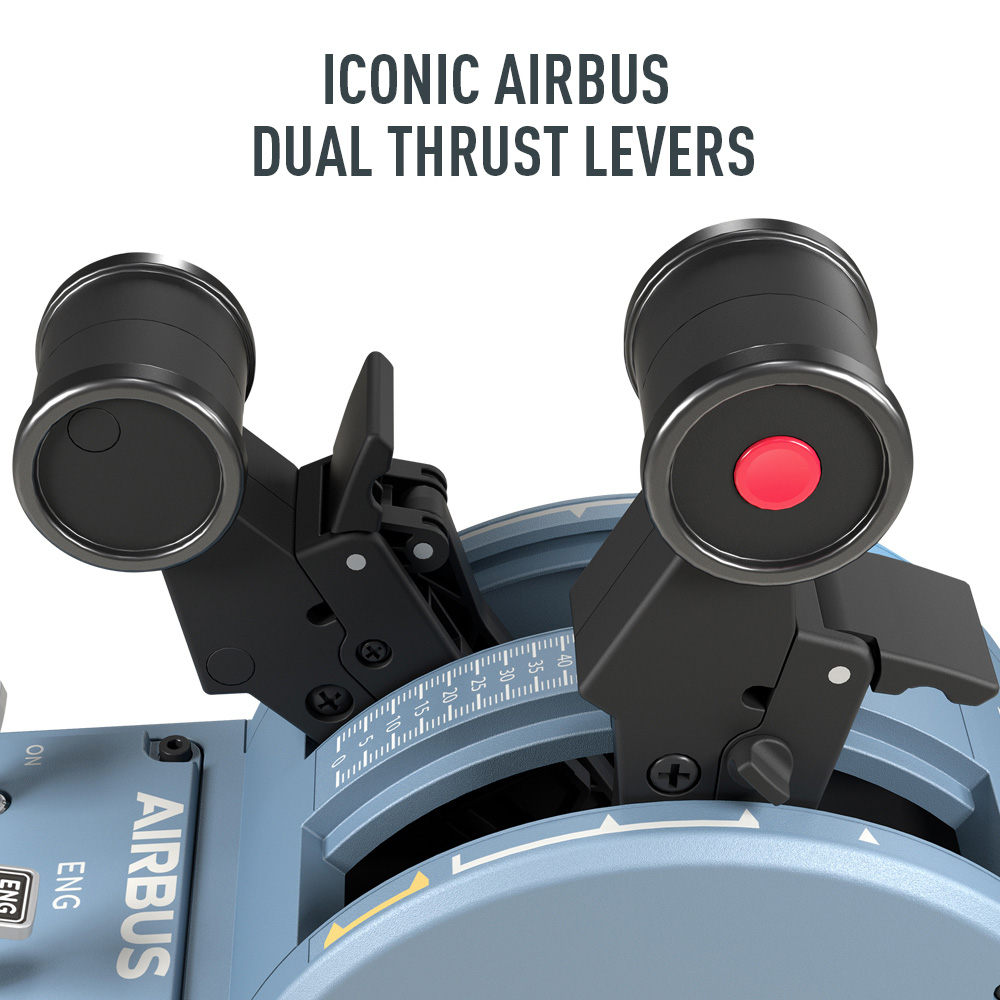 Thrustmaster - TCA Officer Pack Airbus Edition