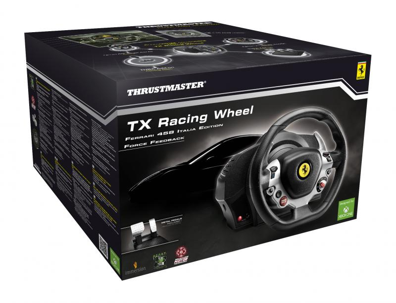 Vorführgerät - Thrustmaster - TX Racing Wheel Ferrari 458 Italia Edition Set