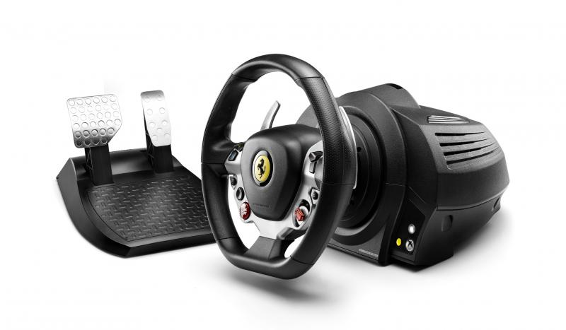 Thrustmaster - TX Racing Wheel Ferrari 458 Italia Edition Set