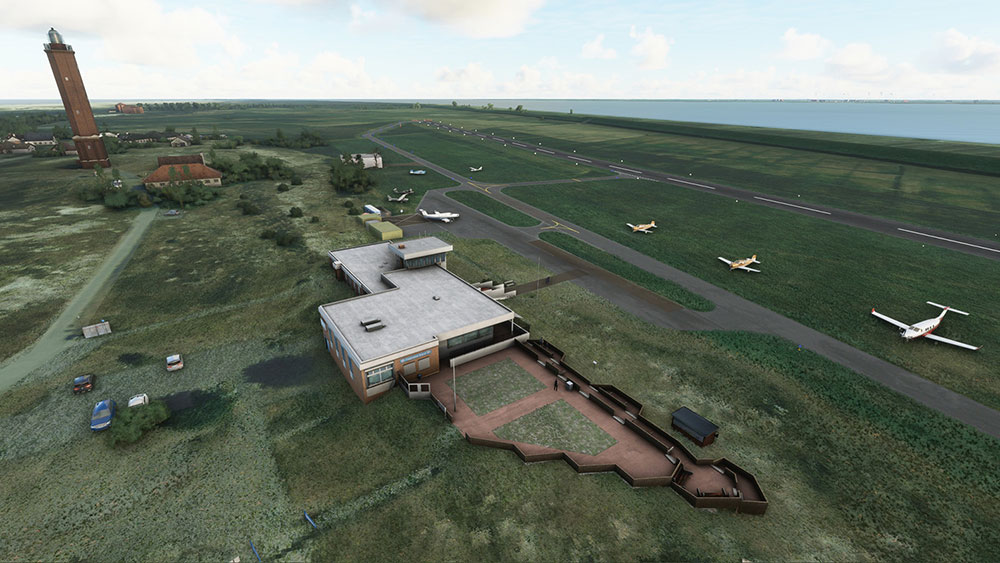 Aerosoft Airfields East Frisian Islands