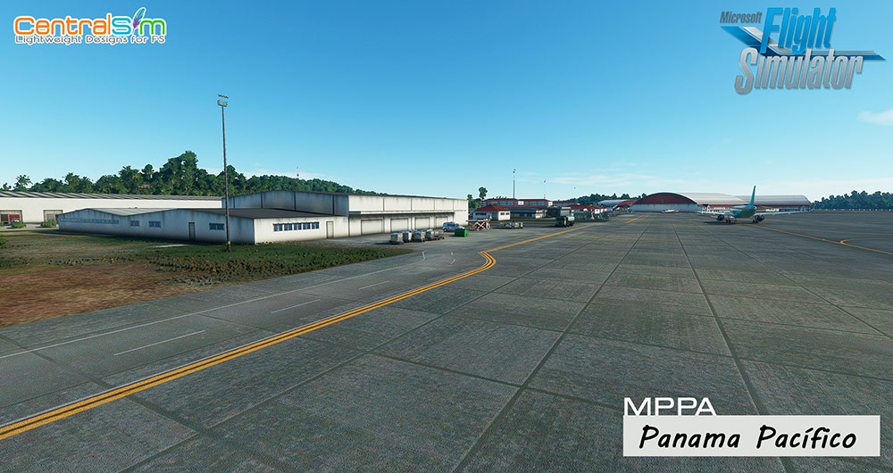 CentralSim - MPPA - Panama Pacifico International Airport MSFS