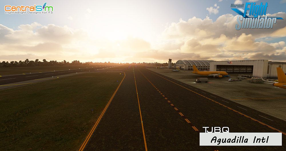 CentralSim - TJBQ - Rafael Hernandez International Airport - Aguadilla MSFS