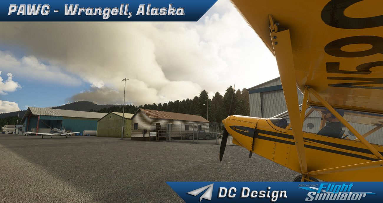 DC Scenery Design - PAWG - Wrangell Airport MSFS