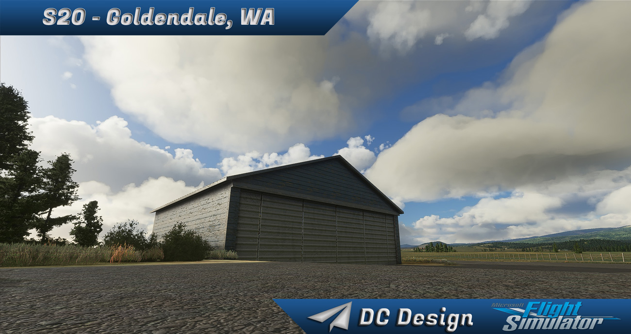 DC Scenery Design - S20 - Goldendale Municipal Airport MSFS