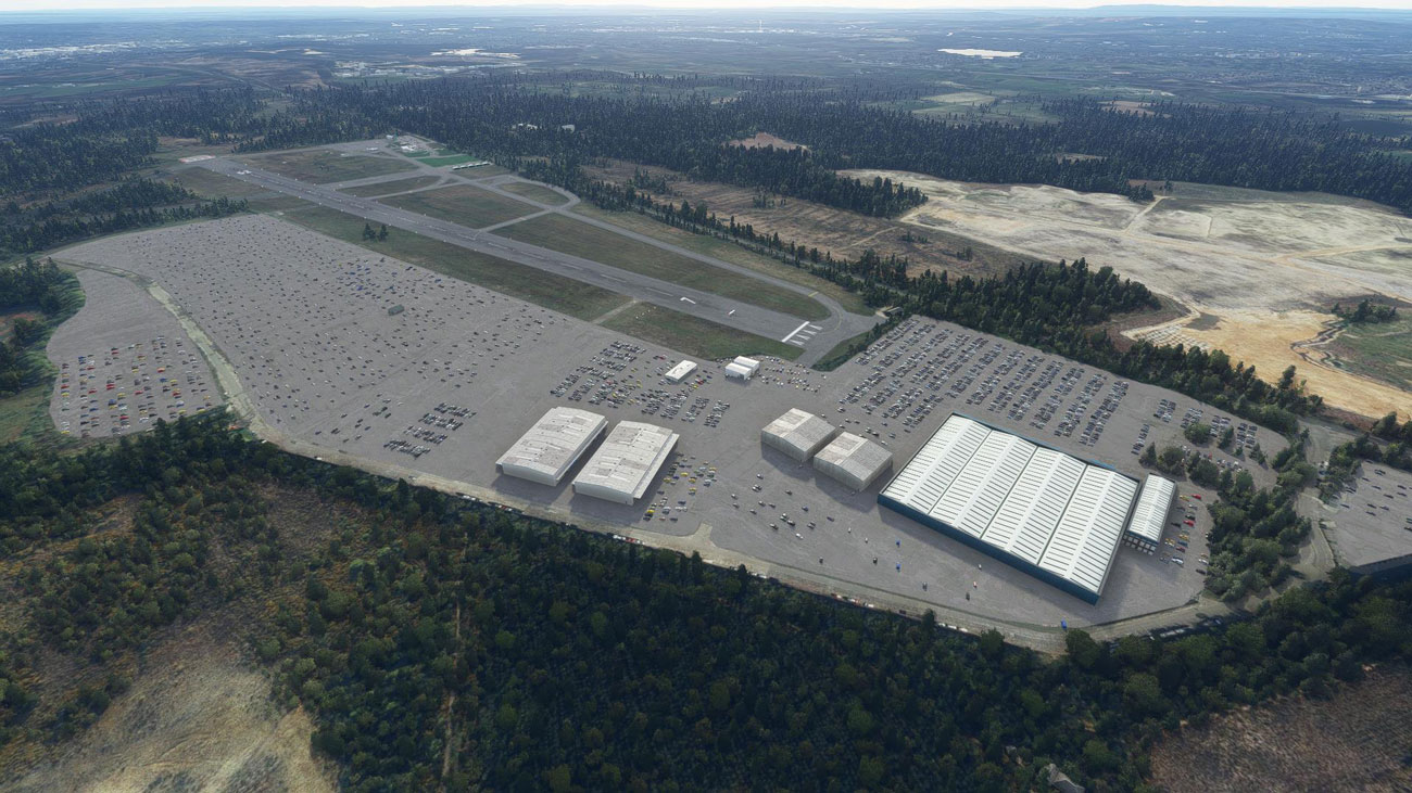 SC Designs Airport Blackbushe MSFS