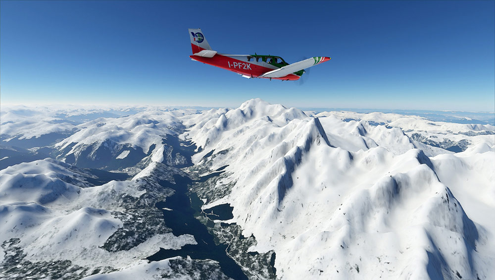 Perfect Flight - Bush Trip - The Alps MSFS