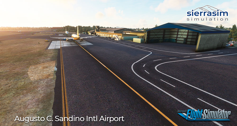 Sierrasim Simulation - MNMG - Augusto C. Sandino International Airport MSFS