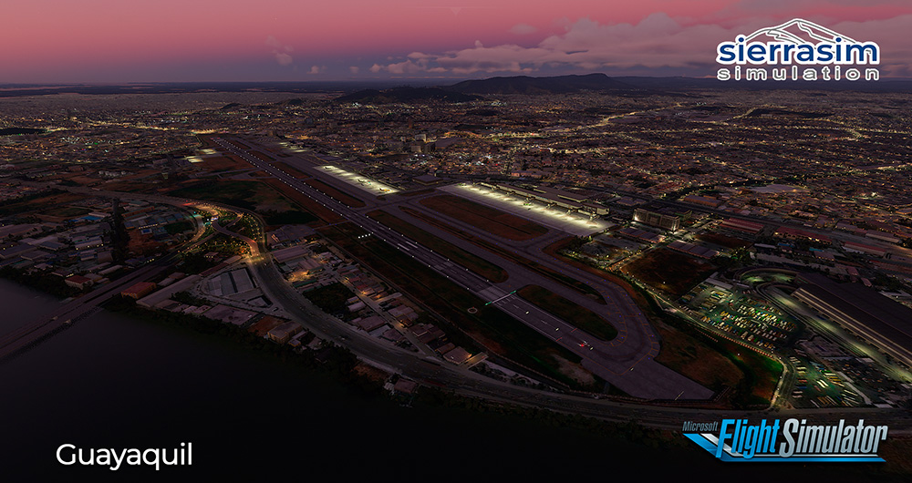 Sierrasim Simulation - SEGU - Jose Joaquin de Olmedo International Airport MSFS