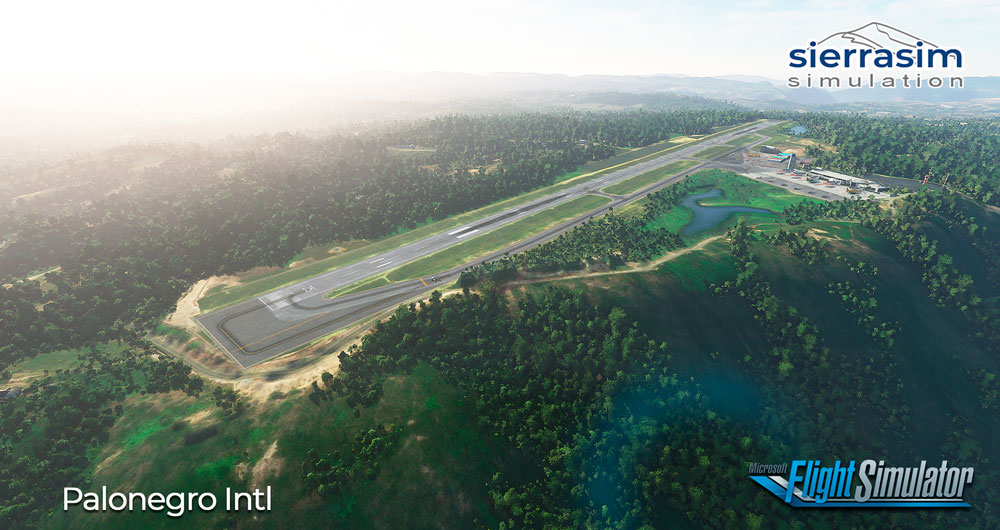 Sierrasim Simulation - SKBG - Palonegro International Airport MSFS
