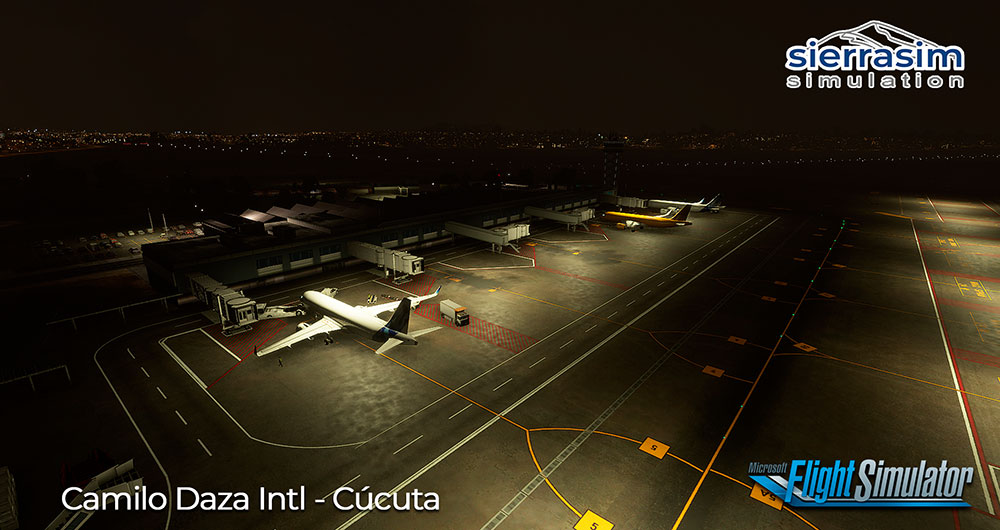 Sierrasim Simulation - SKCC - Camilo Daza International Airport MSFS