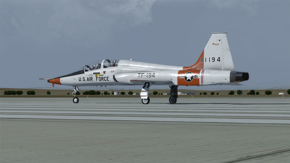 Milviz - Advanced Series: T-38A Redux