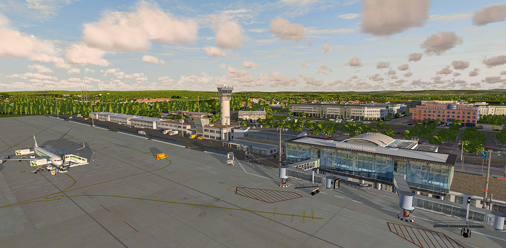 Airport Erfurt for P3D V4 | Aerosoft Shop