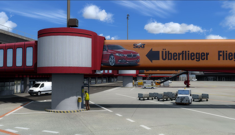 Metro Tegel Mat : Berlin tegel professional aerosoft shop