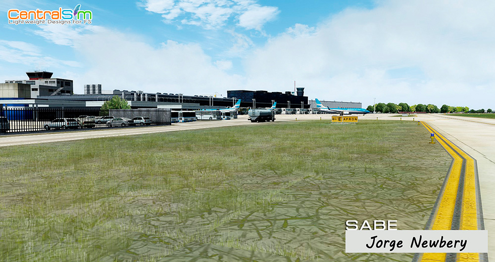 SABE - Aeroparque Jorge Newbery - Buenos Aires P3D
