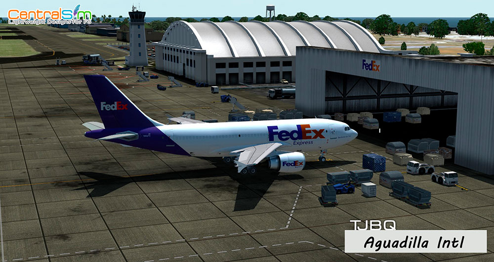 TJBQ - Rafael Hernandez International Airport - Aguadilla P3D V4/V5