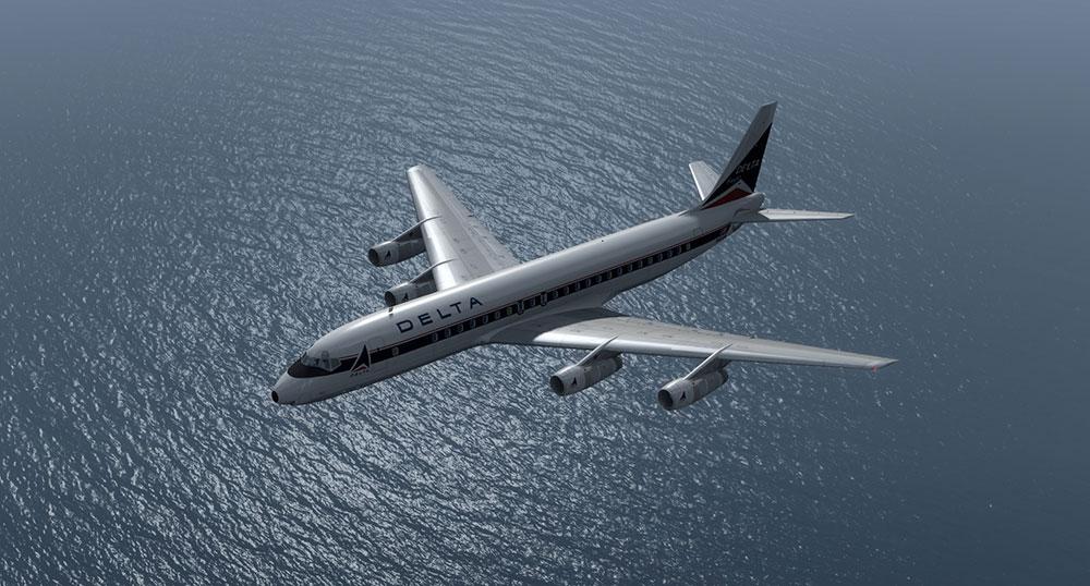 just flight dc-8 problems