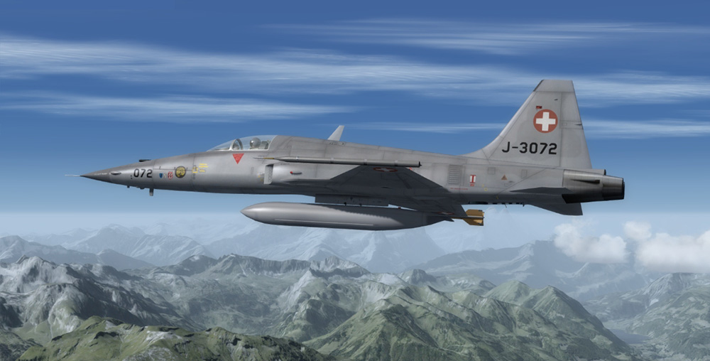 Fly The Tiger F-5 for P3D V4